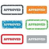 Approved sign icon. Checked symbol Royalty Free Stock Photography