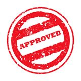 Approved Stamp Stock Images