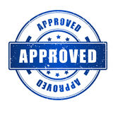 Approved stamp Stock Photos