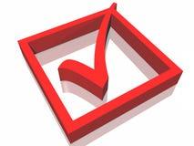 Approvi il simbolo Immagini Stock