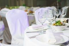 Approvisionnement au mariage et aux célébrations foyer mou et beau bokeh photo stock
