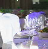 Approvisionnement au mariage et aux célébrations foyer mou et beau bokeh photographie stock