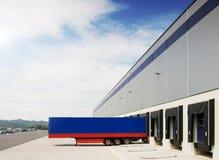 Approvisionnement d'entrepôt Image libre de droits