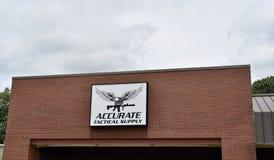Approvisionnement tactique précis, Memphis, TN photos stock