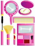 Approvisionnements cosmétiques Image libre de droits