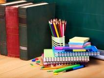 Approvisionnements d'école. Photo libre de droits