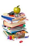 Approvisionnements d'école Image libre de droits