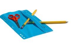 Approvisionnements d'école primaire Photos libres de droits