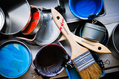 approvisionnements d'art Images stock
