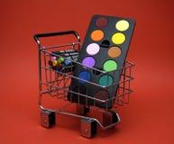 Approvisionnements de achat Photographie stock libre de droits