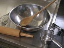 Approvisionnements de cuisson. Photographie stock libre de droits