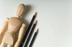 Approvisionnements de dessin Image libre de droits
