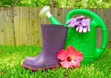 Approvisionnements de jardinage Image libre de droits