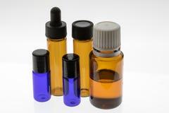 Approvisionnements de mélange d'huile essentielle photo libre de droits