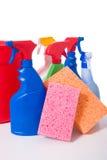 Approvisionnements Spring Cleaning photos libres de droits