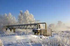 Approvvigionamenti di gas nel Nord Fotografie Stock