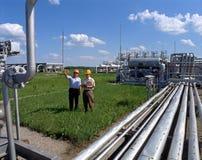 Approvvigionamento di gas Fotografie Stock Libere da Diritti