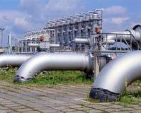 Approvvigionamento di gas Fotografia Stock Libera da Diritti