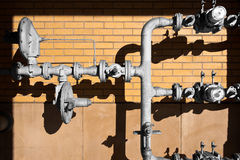 Approvvigionamento di gas Fotografia Stock