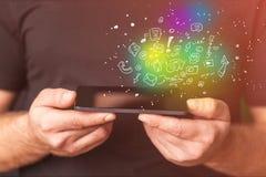 apps κινητός Στοκ εικόνες με δικαίωμα ελεύθερης χρήσης