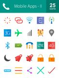 apps κινητός Στοκ φωτογραφία με δικαίωμα ελεύθερης χρήσης