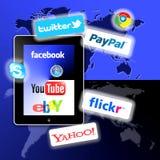 apps δίκτυο s κοινωνικό τι σα&sigma Στοκ Εικόνα