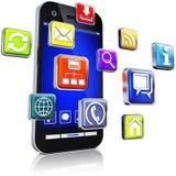 Apps illustration libre de droits