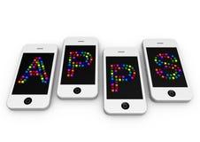 APPS Imágenes de archivo libres de regalías