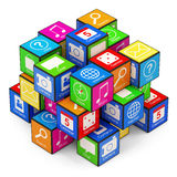 APPS Boxes Stock Photography