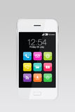Apps colorés sur le smartphone Photo libre de droits