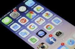 Apps di Google Fotografia Stock