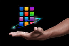 Apps-Ikone Stockfotos