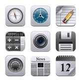 Apps Ikonen Stockfotos