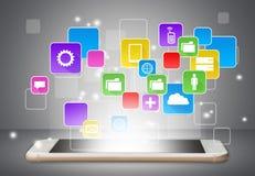 Apps stock illustration
