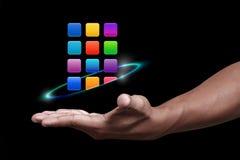 Apps symbol Arkivfoton