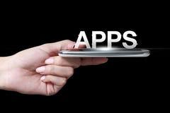 Apps symbol Royaltyfria Bilder