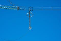 Appui de l'électricité Image stock