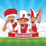 Appui du football du Bahrain Photographie stock