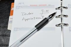 Appuntamento del medico Fotografie Stock