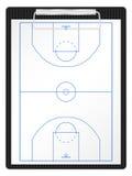 Appunti di pallacanestro illustrazione di stock