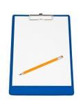 Appunti e matita fotografia stock libera da diritti