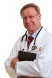 Appunti principali della holding del medico Fotografie Stock Libere da Diritti