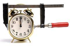 Appuyé par Time Concept Images stock