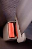 Appuyez le détail de ceinture de sécurité Image stock