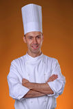 Appy cook portrait Stock Photography