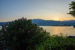 Après coucher du soleil Photo stock