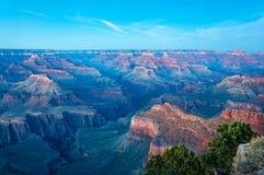 Après coucher du soleil au point de Mojave - Grand Canyon Photo stock