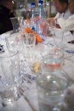 Après dîner Photographie stock