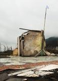Après des effets d'éruption volcanique photographie stock libre de droits