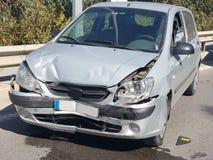 Après l'accident de la circulation Photo libre de droits